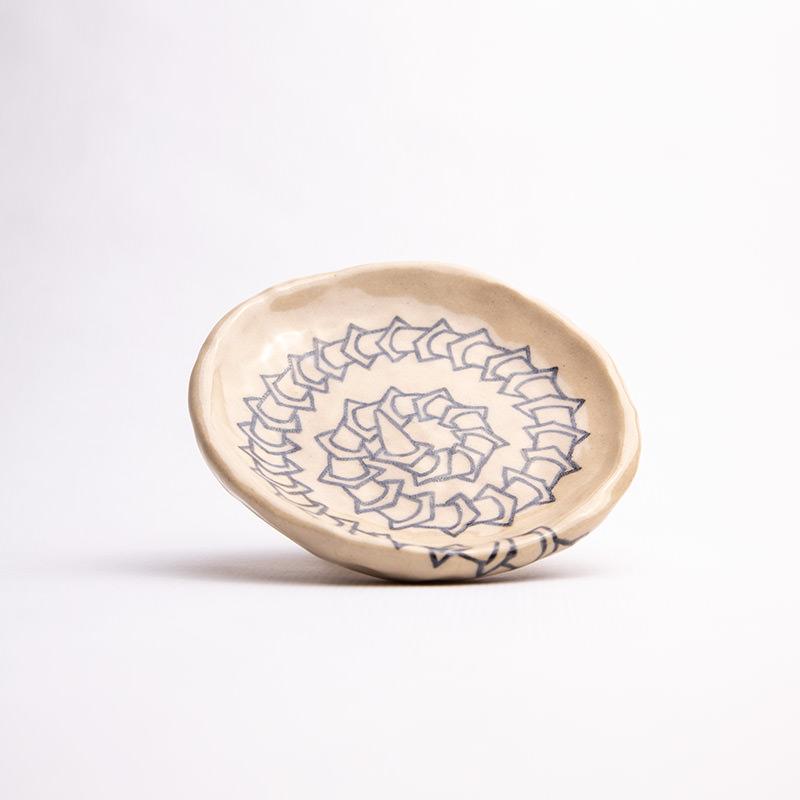 Sunny Nestler's Slipping Spiral dish