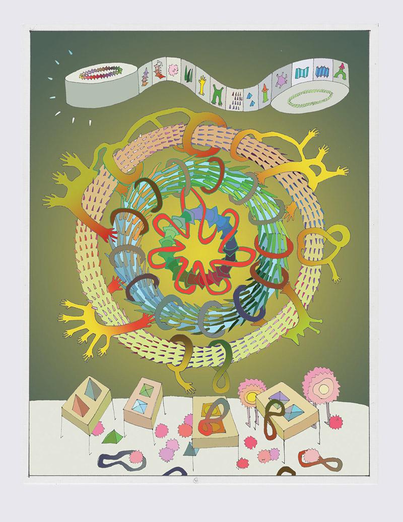 Sunny Nestler's Event Nebula print